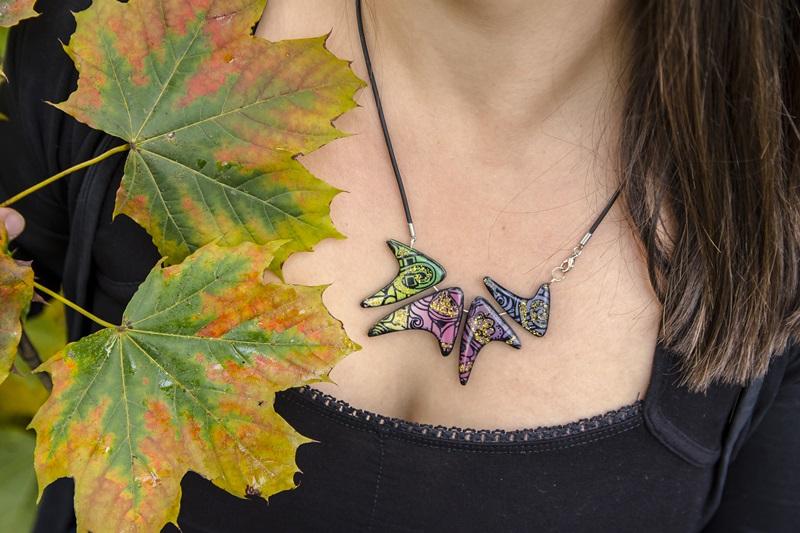 0028 - Barvita jesen in kolekcija nakita Fairytale