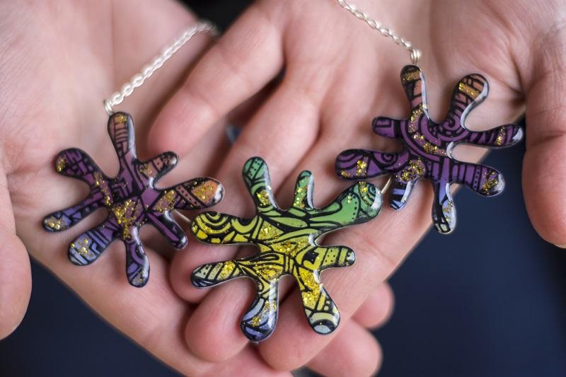 061 - Barvita jesen in kolekcija nakita Fairytale
