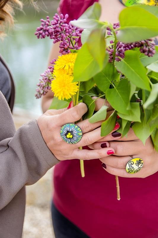 6684 - Španski bezeg, regrat in kolekcija nakita Spring