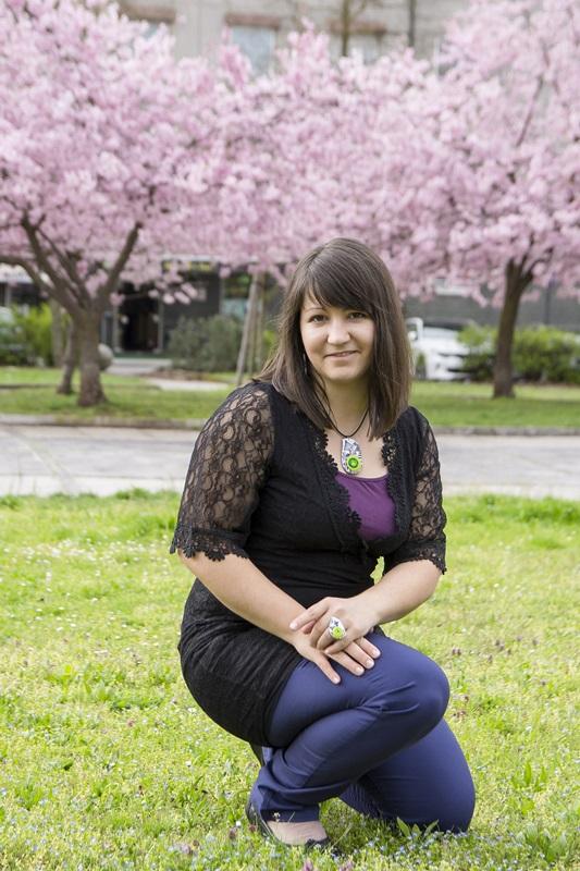 036 - Cvetoče japonske češnje in pomladna kolekcija nakita Bloom