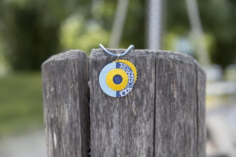 0017 - Vedno trendni mornarski vzorec in kolekcija nakita Blue Summer
