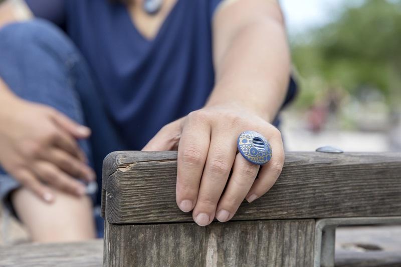 0031 - Vedno trendni mornarski vzorec in kolekcija nakita Blue Summer