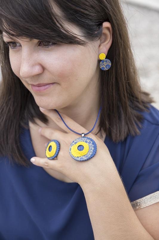 0039 - Vedno trendni mornarski vzorec in kolekcija nakita Blue Summer
