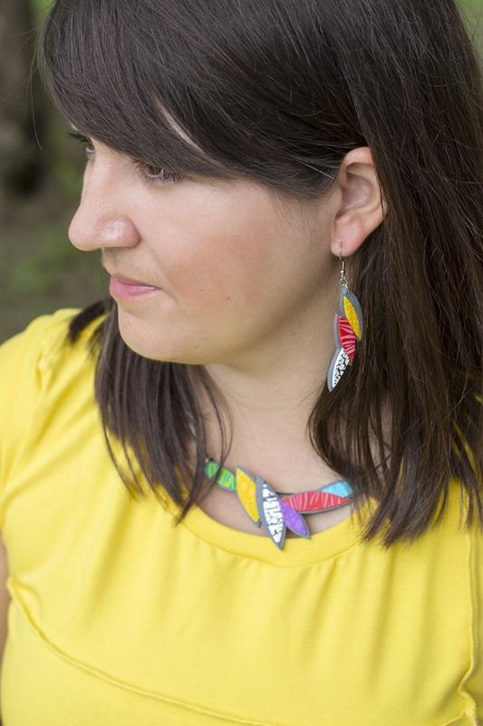 0095 - Z živobarvno kolekcijo nakita Tropic v vroče poletje