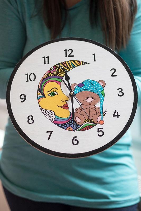 026 1 - Ideja za darilo: čudovita stenska ura