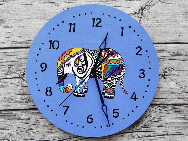 DSCN7394 - Ideja za darilo: čudovita stenska ura